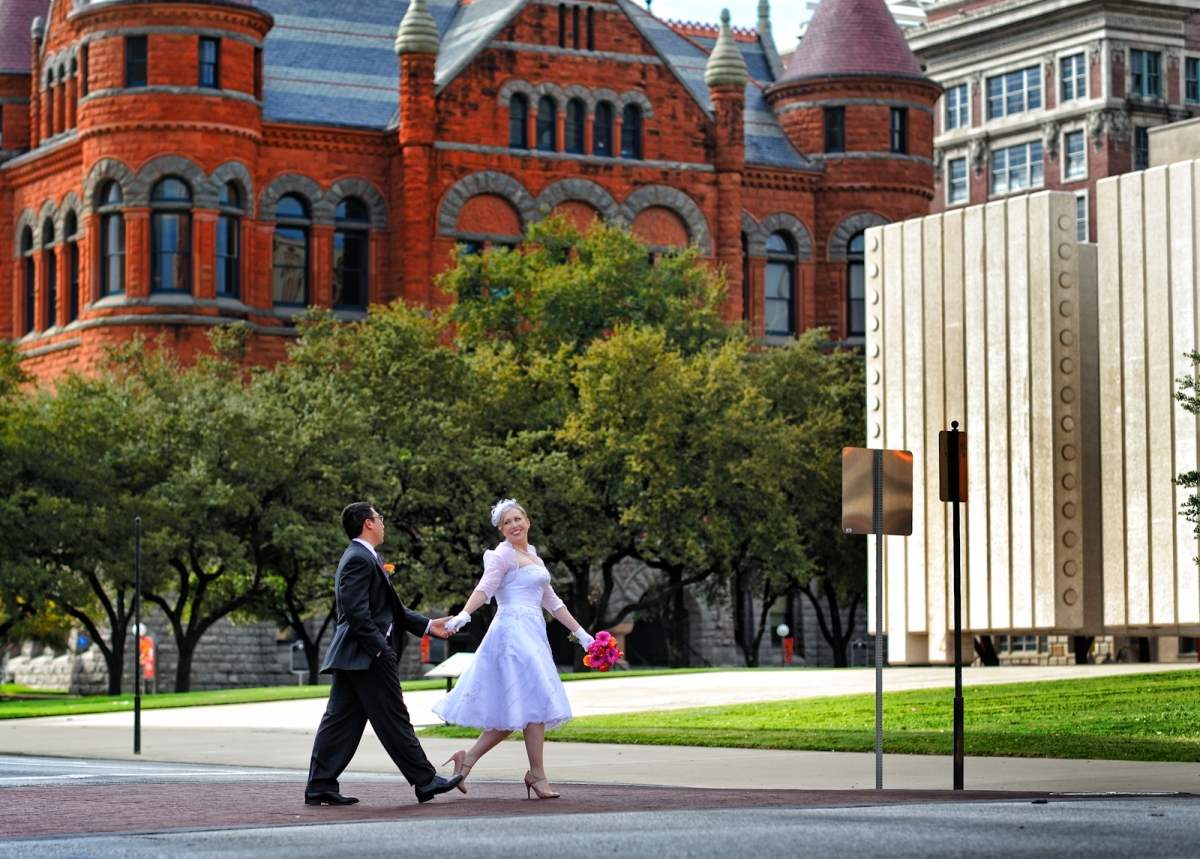 Dallas Wedding Photographer Old Red Courthouse