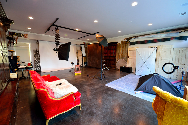 Ivey Photography Studio Midlothian Texas - Camera Room (Studio)