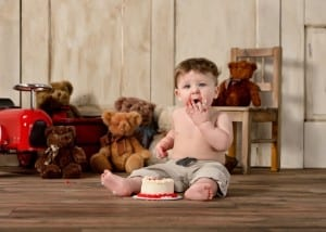 Baby's First Birthday Pictures