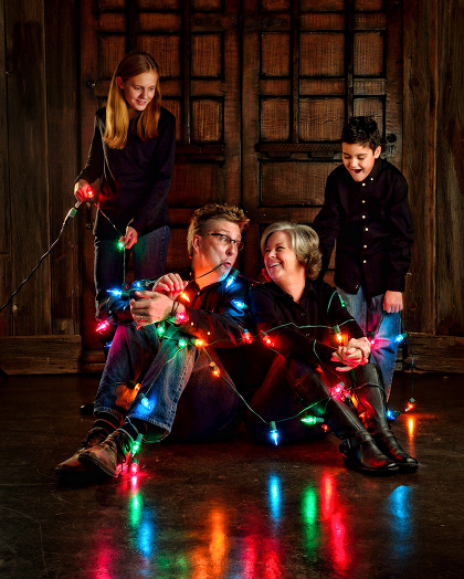 All Tied Up - The O'Reilly Family Portrait - Dallas-Fort Worth