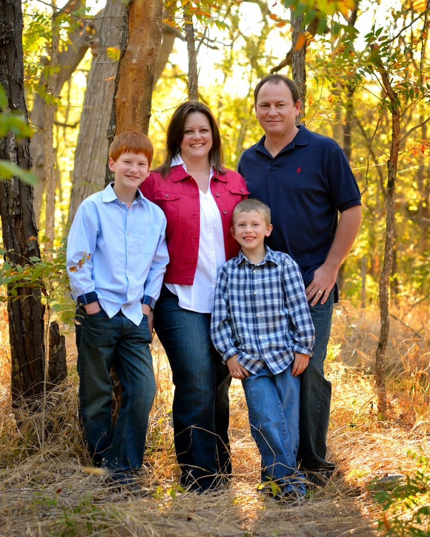 Rankin family of four outdoor portraits made easy for Family of 4 picture ideas