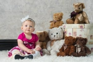 Blissful Baby Stand Up Session 9 Months Old