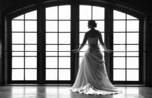 Grapevine Delaney Vineyards Bridal Portrait