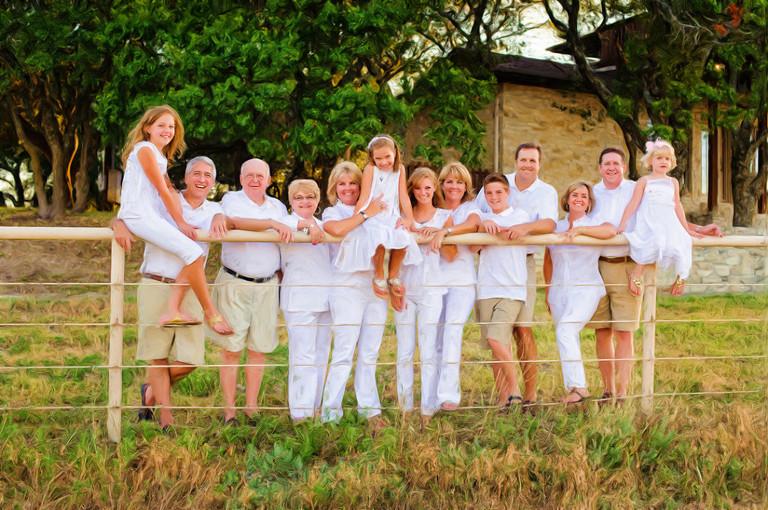 The Platt Family Cleburne Texas Summer Vacation Portrait