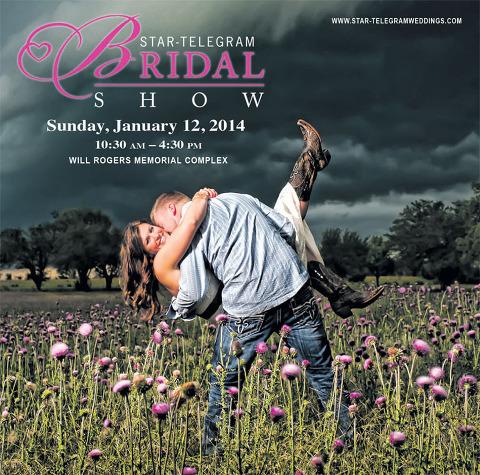Fort Worth Star Telegram Bridal Show Cover Image 2014