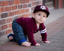 Baby 9 Months Outdoor Dallas Child Photography