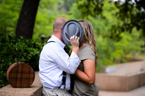 Fort Worth Downtown Engagement Pictures