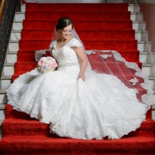 Dallas Bridal Portraits at Scottish Rite Downtown Event Venue