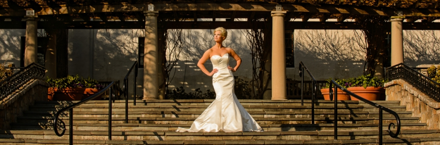 Dallas Arboretum Preferred Vendor Bridal Portrait - Dallas Fort Worth Wedding Photographer