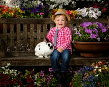 The Dallas Arboretum Easter Portrait Event