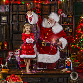 Best Santa Pictures in Dallas