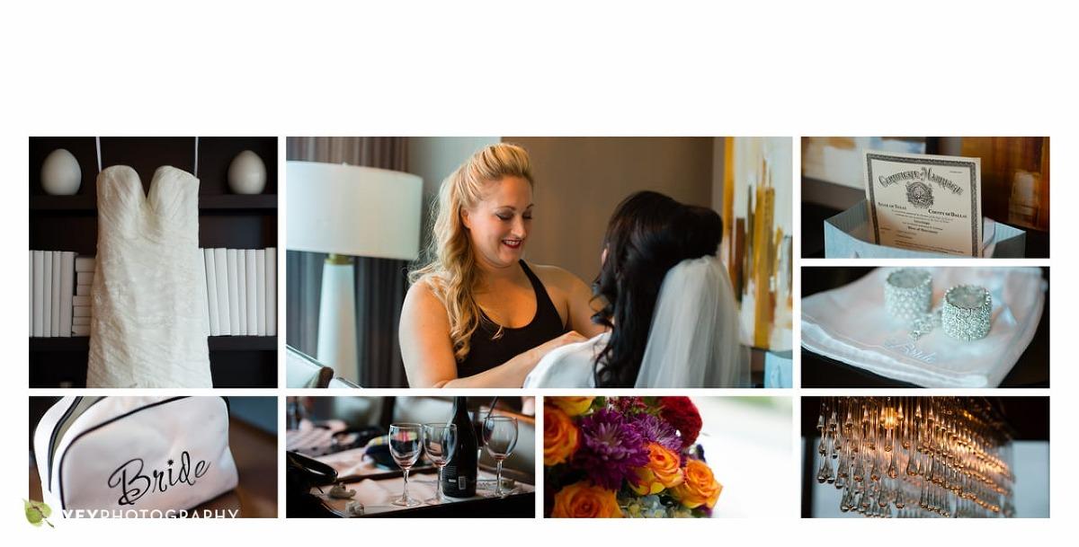 Dallas Omni Hotel and Dallas Arboretum Wedding Photography by Ivey Photography Dallas Wedding Photographer