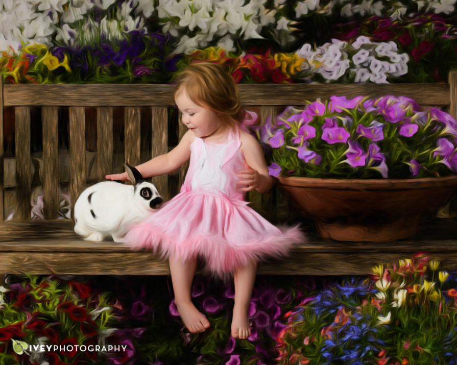 Spring Easter Bunny Mini Sessions at Ivey Photography