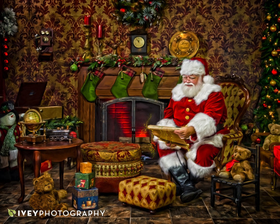 The Ivey Photography Santa Experience