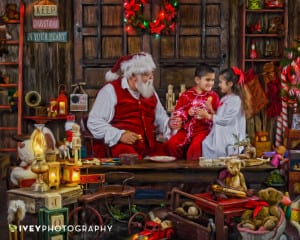 The Best Santa Experience in Texas