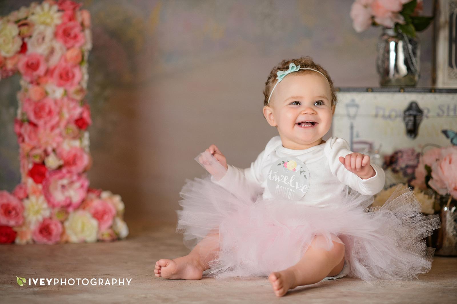 First Birthday Portrait Photographer Midlothian TX