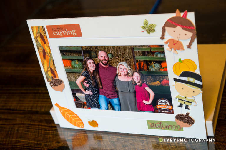 Shadow Creek Pumpkin Farm Free Portrait Mat from Ivey Photography