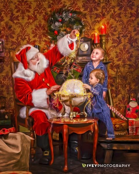 The Storybook Santa Experience Midlothian Dallas Fort Worth Texas