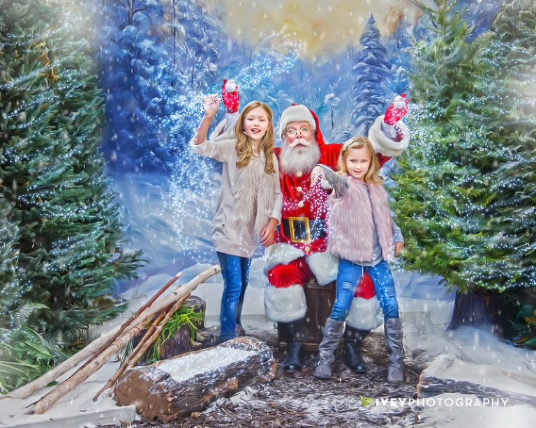 The Storybook Santa Experience Dallas Fort Worth Snow Portraits