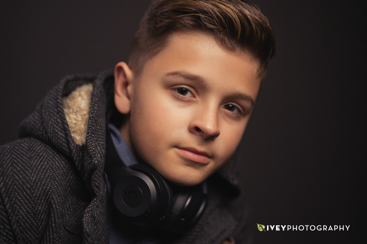 Couture Kids Portraits for Children with Style by Ivey Photography Dallas Child Photographer