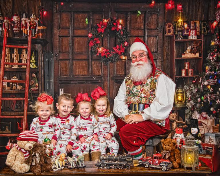 FHK Santa Painting