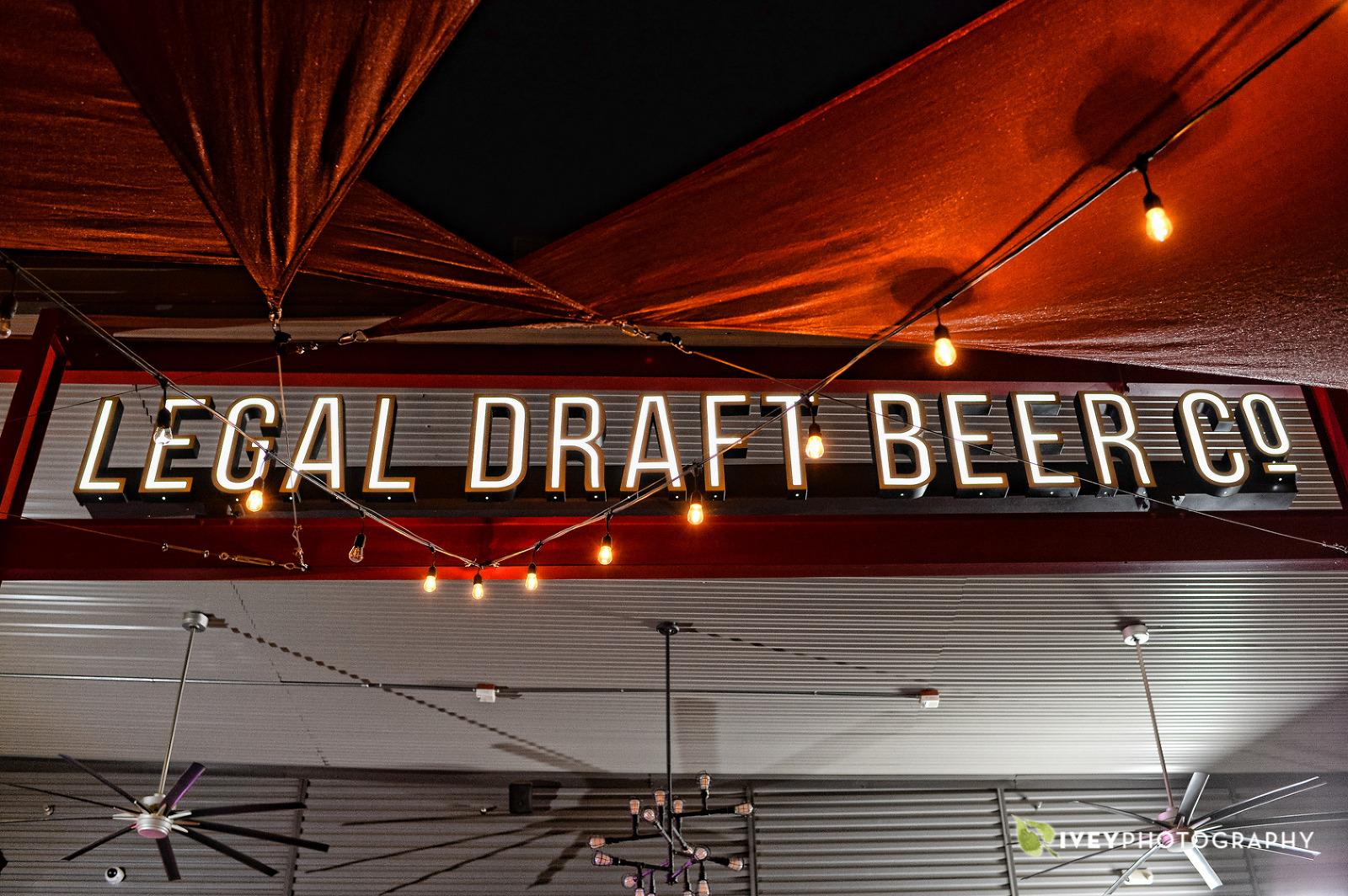 Arlington Wedding Photography Legal Draft Beer Co