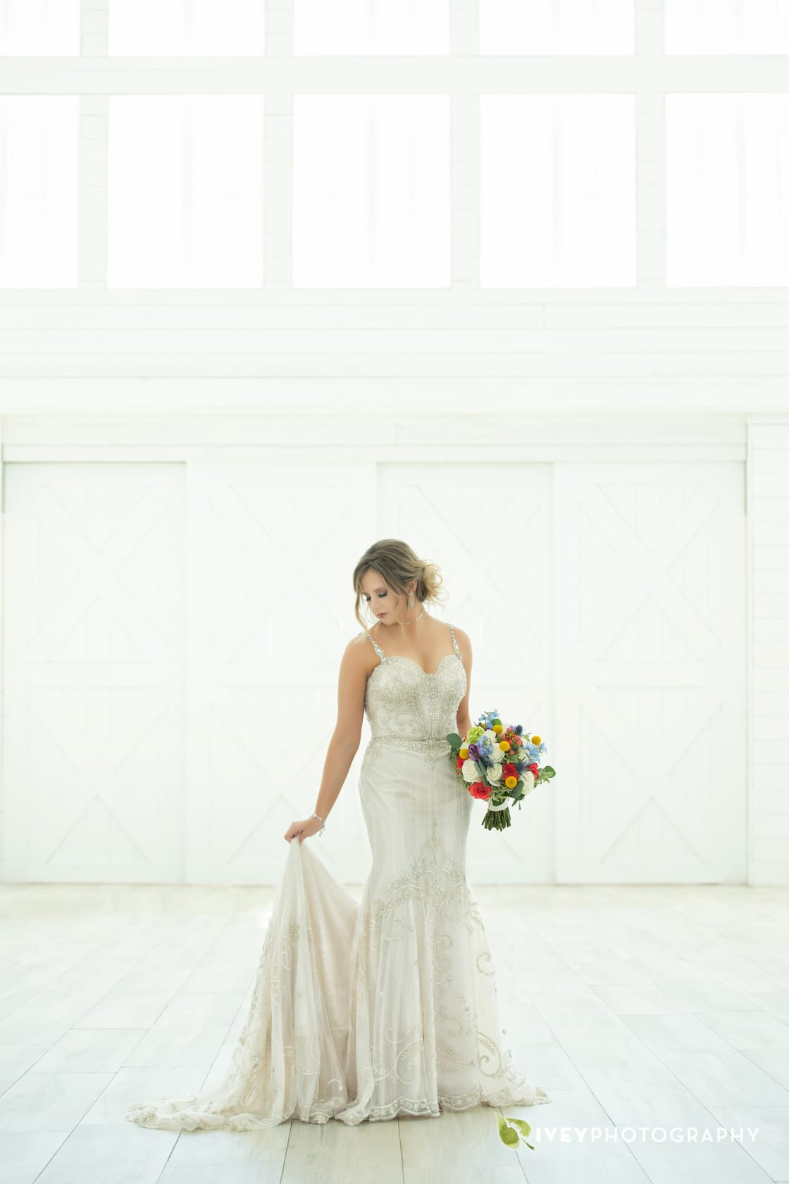 Bridal Portrait The Nest at Ruth Farms Wedding Photography