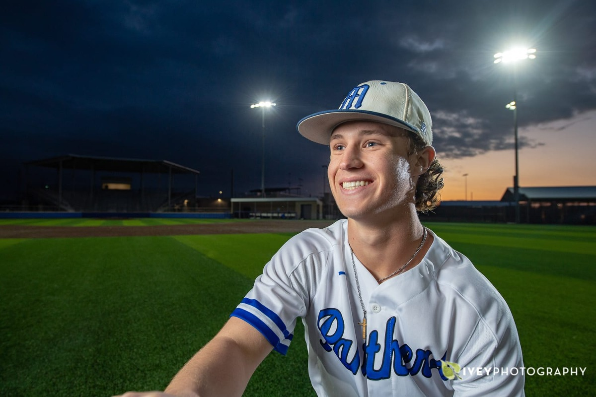 High School Baseball Senior Portrait Poses for Guys