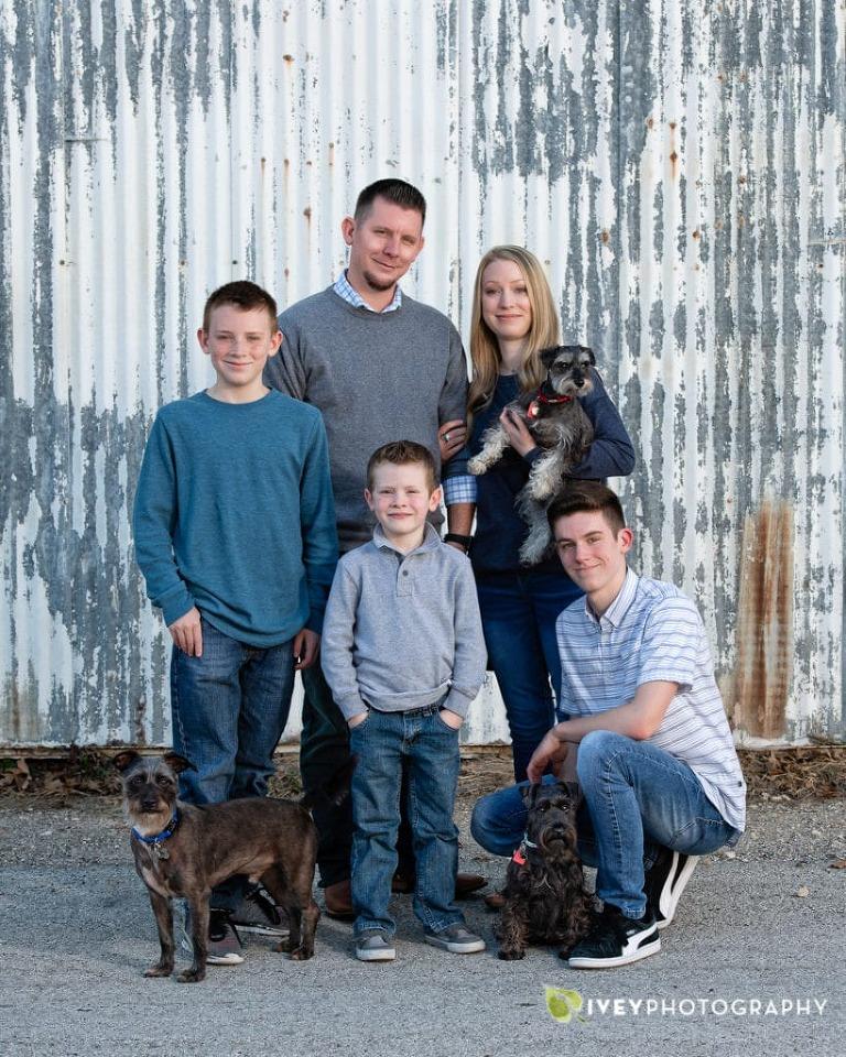 Midlothian Family Pictures Ivey Studio Portraits