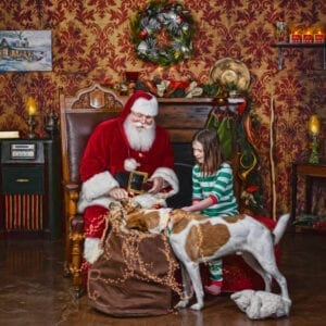 The Storybook Santa Experience by Ivey Photography